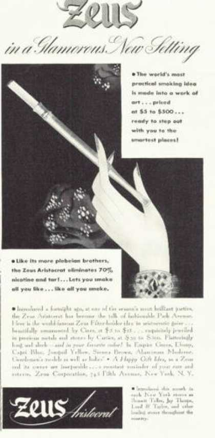 Zeus Aristocrat Cigarette Filter Holder (1938)