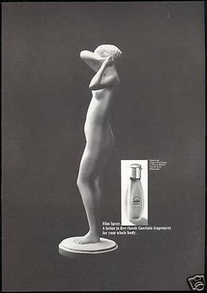 Guerlain Nude Lady Film Spray Fragrance (1968)