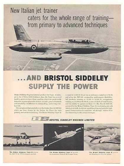 '60 Macchi MB326 Jet Trainer Bristol Siddeley Engine (1960)