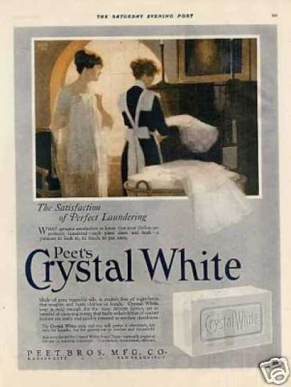 Peet's Crystal White Soap Color (1920)