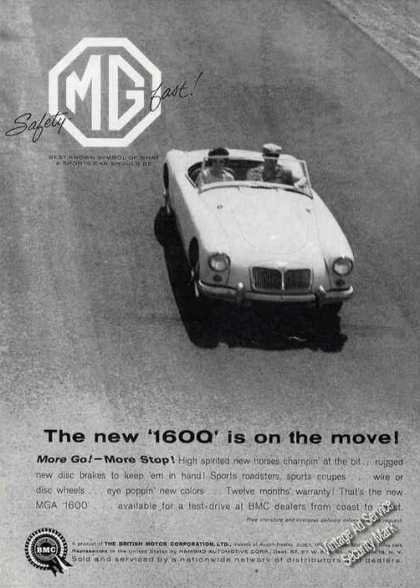 "Mg 1600 ""More Go! – More Stop!"" Car (1964)"