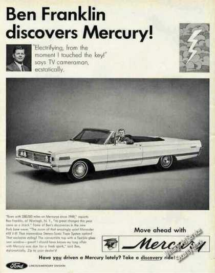 Mercury Park Lane Convertible Car (1966)