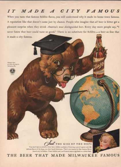 It Made a City Famous Schlitz Beer (1942)