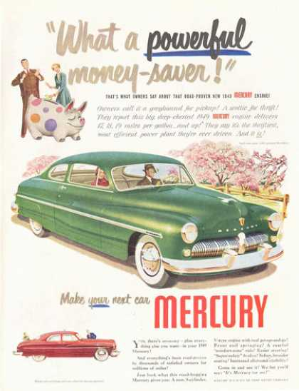 Mercury Big Green 2 Door (1949)