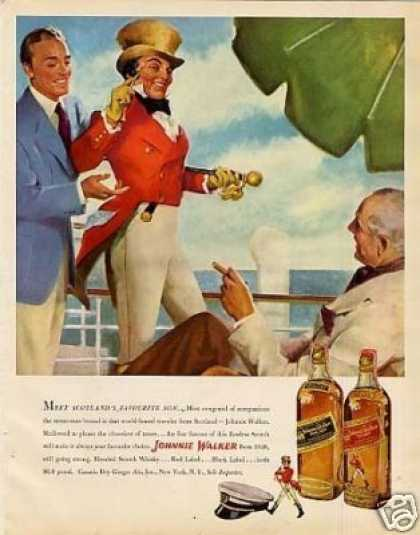 Johnnie Walker Scotch Whisky (1949)