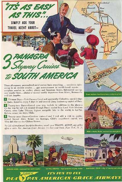 Panagra's Pan American Grace Airways (1941)