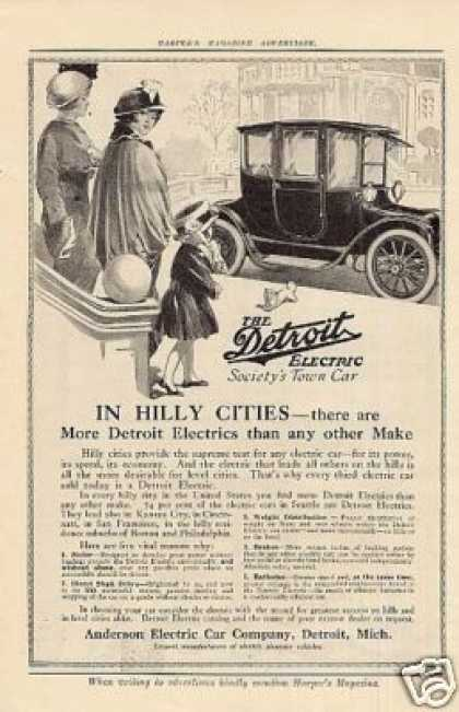 Anderson Detroit Electric Car (1914)