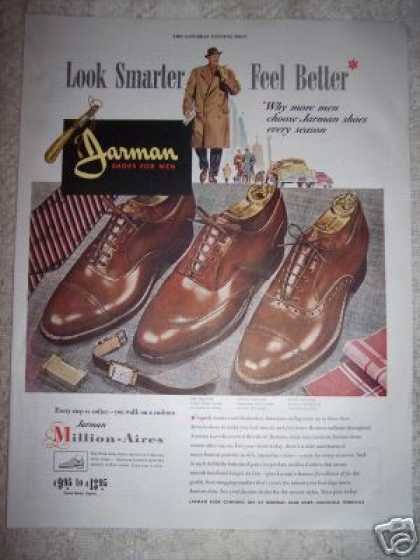 Jarman Shoes for Men Fashion (1948)