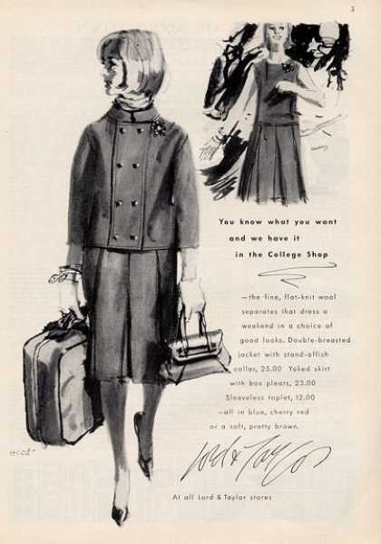 Lord & Taylor Women's Fashions (1964)