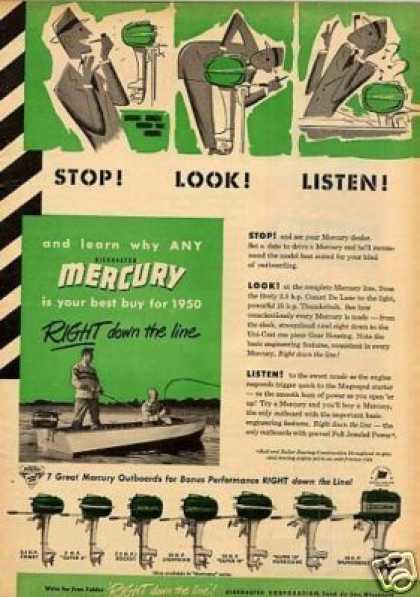 Mercury Outboard Motors (1950)