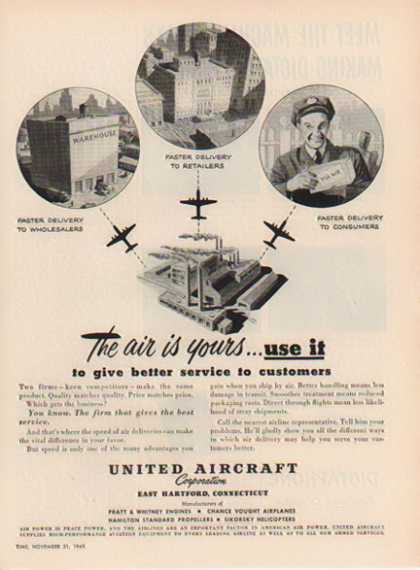 United Aircraft Corp. – East Hartford, Connecticut (1949)