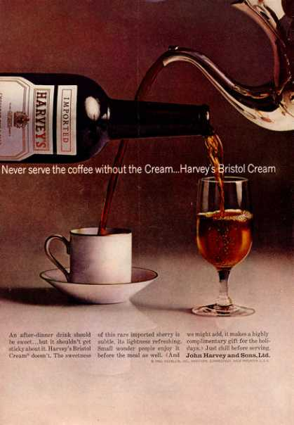 Harvey's Bristol Cream Bottle Print (1964)