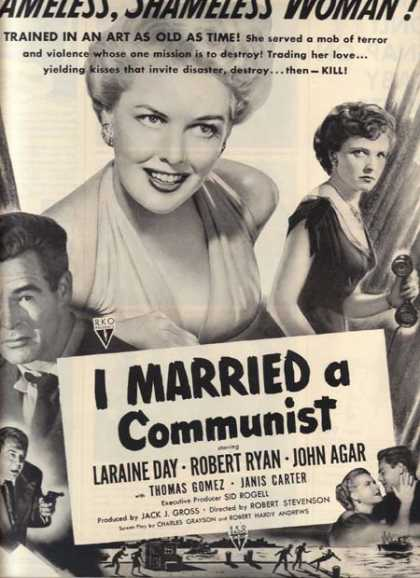 I Married a Communist (Laraine Day and Robert Ryan) (1949)