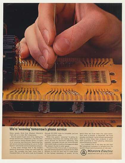 Western Electric Weaving Electronic Memory (1965)