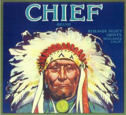 Chief Orange Label – Redlands, CA
