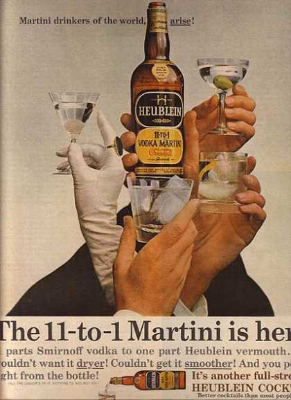 Heublein's Vodka Martini (1964)