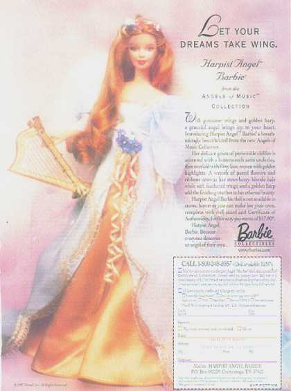 Barbie Doll – Harpist Angel Barbie (1997)
