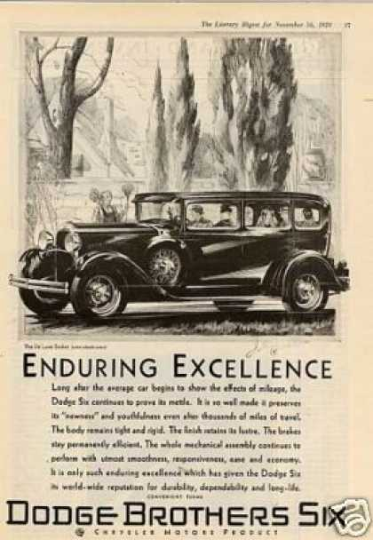 Dodge Brothers Six Deluxe Sedan (1929)