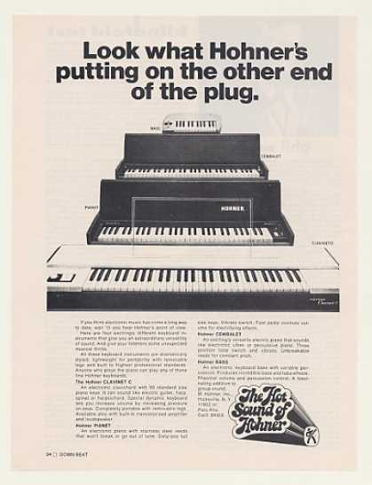 Hohner Clavinet C Pianet Cembalet Bass Keyboard (1971)