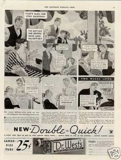 Dr. West's Toothpaste (1934)