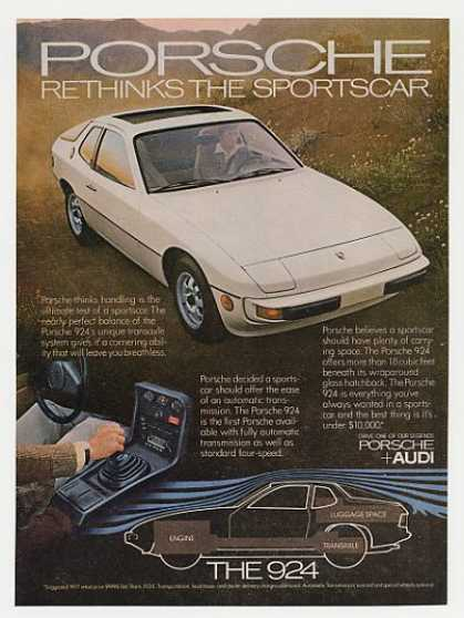 Porsche 924 Rethinks the Sportscar (1977)