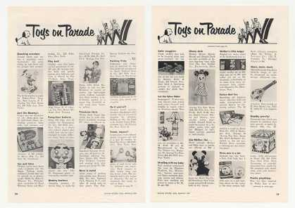 Donald Duck Winky Dink Tinkertoy Toy Trade Article (1955)