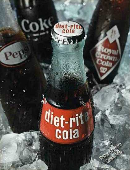 Diet-rite Cola Large 2 Page (1966)