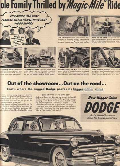 Chrysler's Dodge (1950)