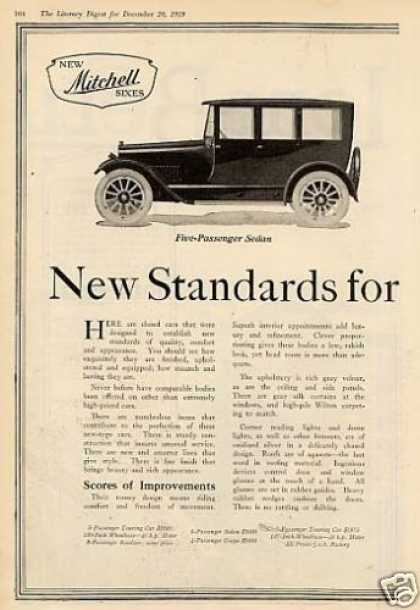 Mitchell Coupe & Sedan Ad 2 Page (1920)