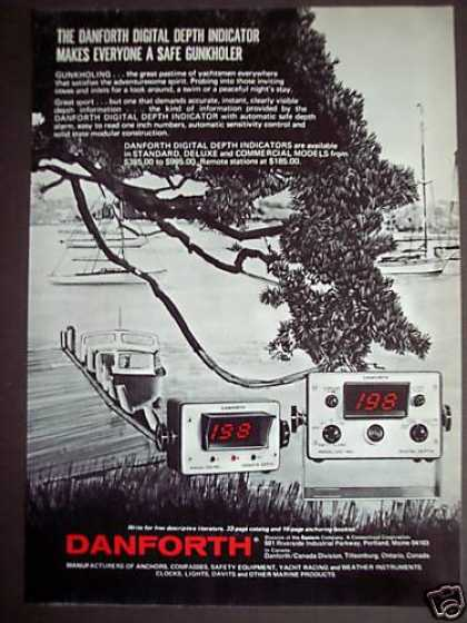 Danforth Digital Depth Indicator for Gunkholing (1971)
