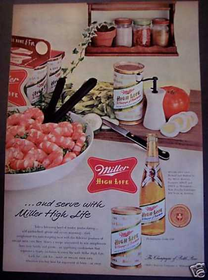 Original Miller High Life Beer (1955)