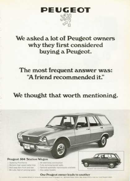 Peugeot 504 Station Wagon (1972)