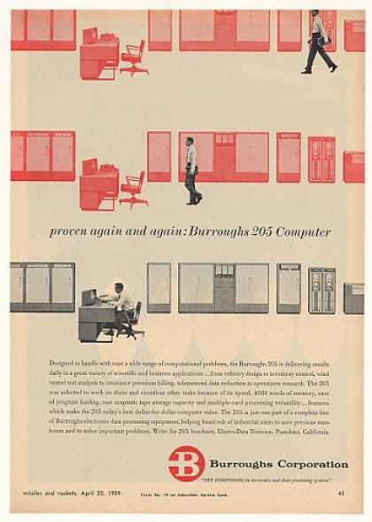 Burroughs 205 Computer System (1959)