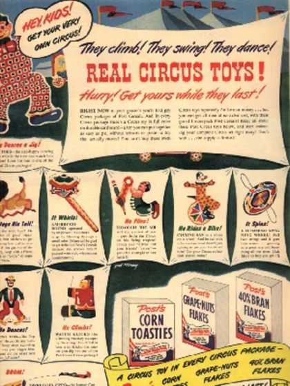 Post's Circus Toys (1947)