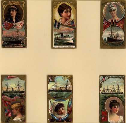 W. Duke Sons & Co.'s Duke's Cigarettes – Ocean and River Steamers – Image 1