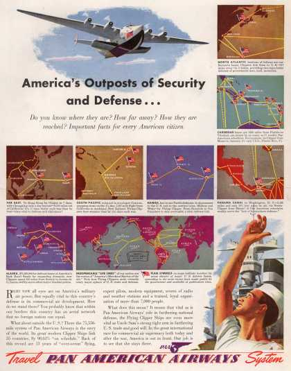Pan American Airways System – America's Outposts of Security and Defense (1941)