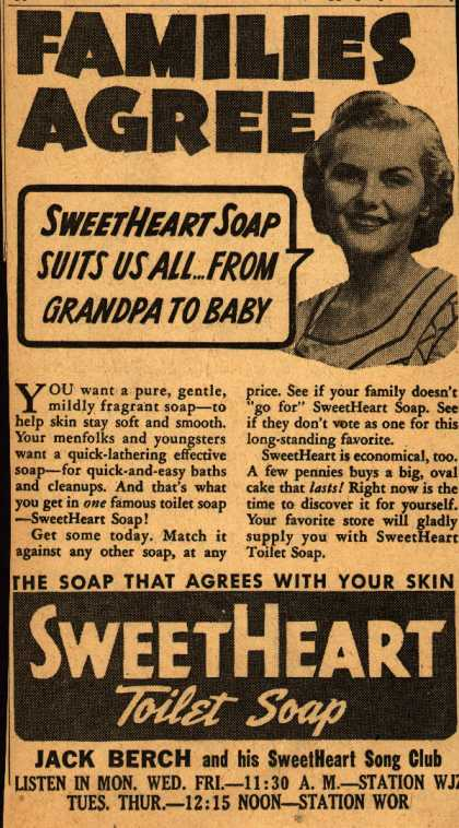 SweetHeart – Families Agree (1940)