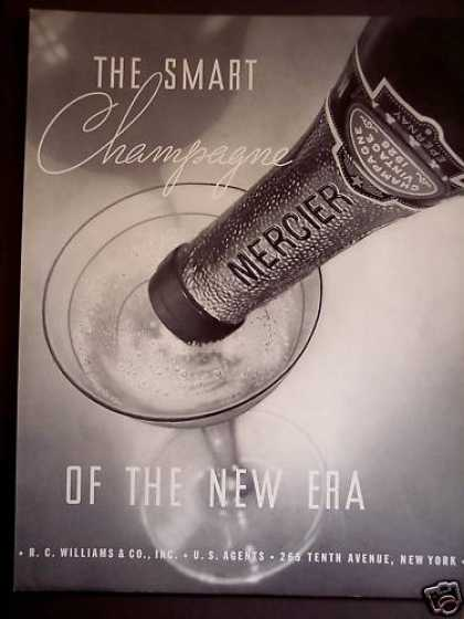 Mercier the Smart Champagne (1934)