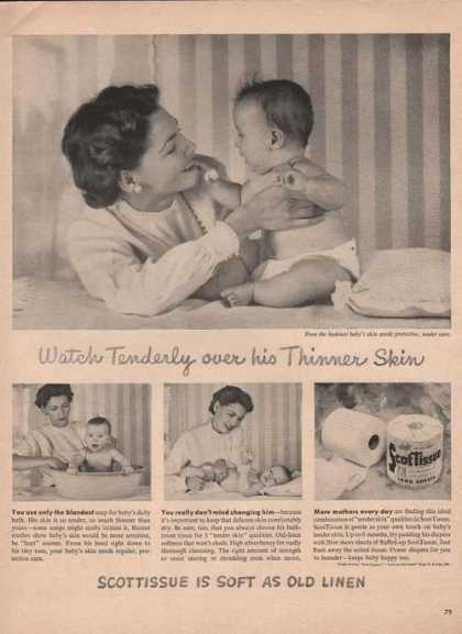 Scot Tissue Is Soft As Old Linen (1949)