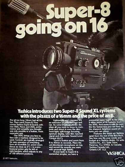 Yashica Super- 8mm Sound Xl Movie Camera (1977)