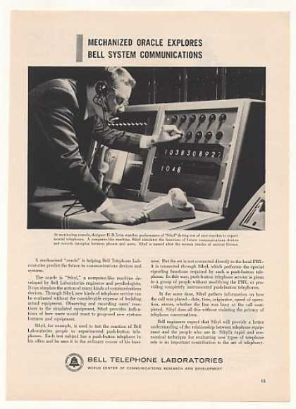 Bell Telephone Sibyl Computer-Like Test Machine (1958)
