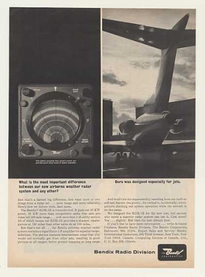 Bendix RDR-1E Airborne Weather Radar System (1964)