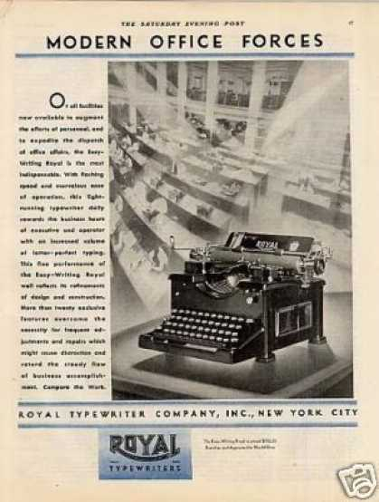 Royal Typewriter (1929)