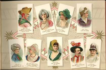 W. Duke Sons & Co. – Costumes of All Nations – Image 3 (1888)