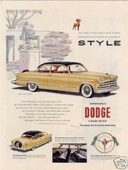 Dodge Coronet V-eight Club Coupe (1953)