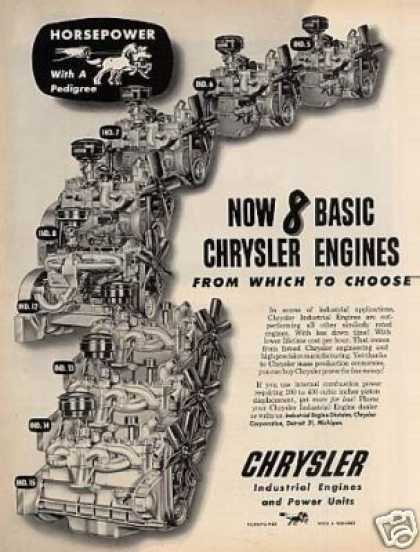 Chrysler Industrial Engines (1950)