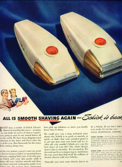 Schick Electric Shaver C (1944)