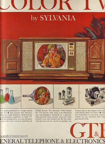 Sylvania's Color TV's (1964)