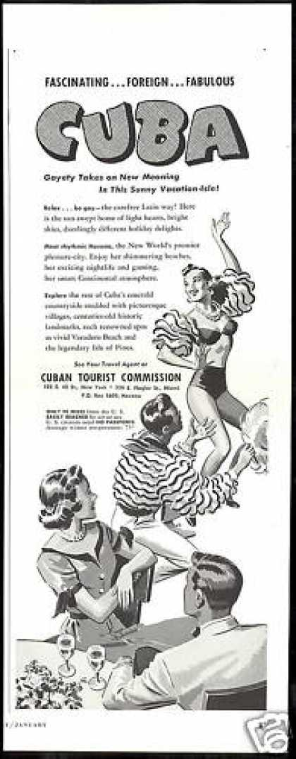 Cuba Travel Fascination Foreign Fabulous (1952)