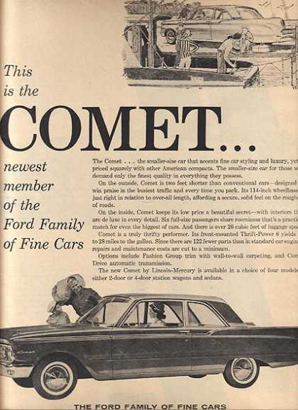 Ford's Mercury Comet (1960)